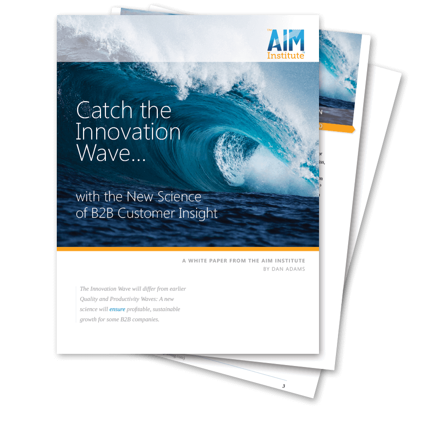 Catch the innovation wave