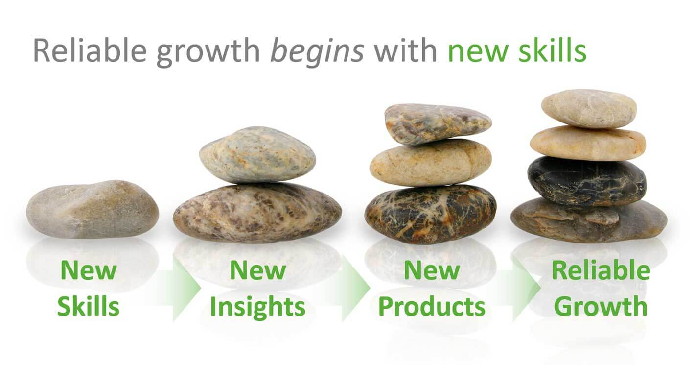 Reliable growth begins with new skills.