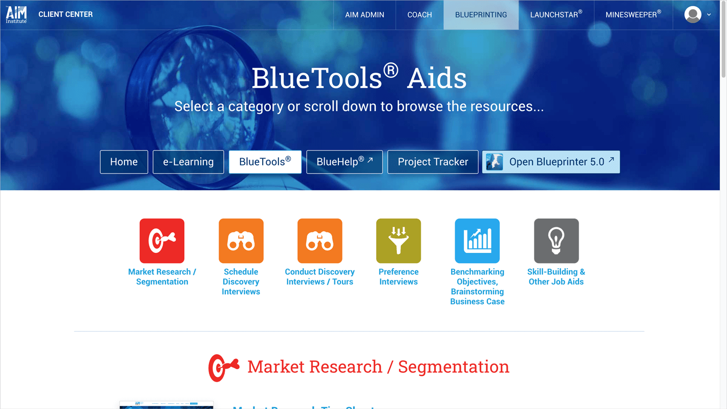 BlueTools: Over 20 BlueTool aids for conducting a myriad of front-end tasks